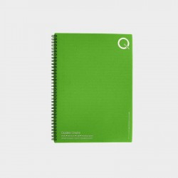 ECO7 carnet notes A4 spirales